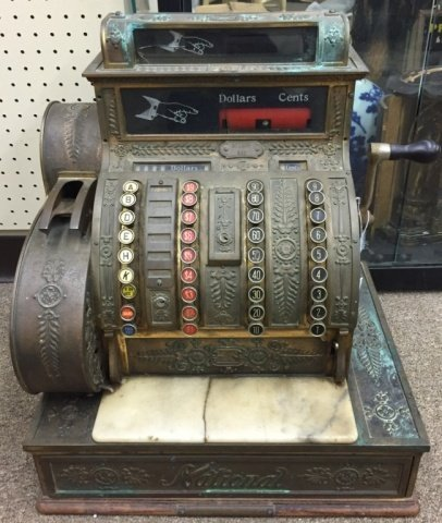 National Cash Register, early 20th century.