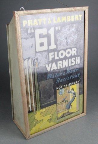 Pratt & Lambert floor varnish bubbler by Biolite.