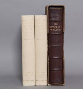 2 Titles (3 Vols) Incl: Nonesuch Compleat Angler.