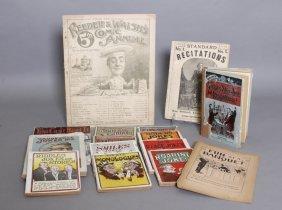 15 Joke Books: Wehman Bros., Other Publishers.