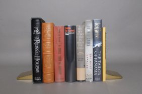 8 Books By John Le Carre (2 Signed).