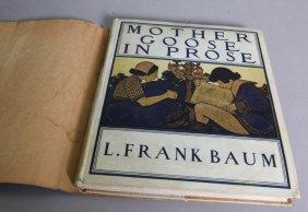 L. Frank Baum Mother Goose (1897) 1st Ed, 1st Prtg