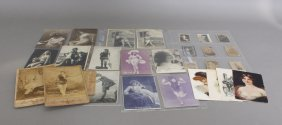 Over 153 Items: Erotica, Incl Real Photo Postcards