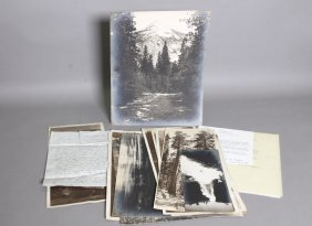 11 Items Incl 9 Photos Of Yosemite Valley.