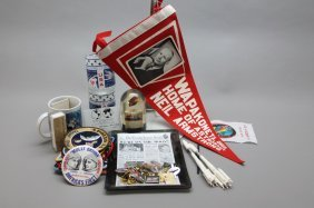 Nasa Commemorative Items W/ Flown Skylab Debris