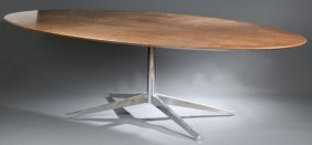Florence Knoll Oval Conference Table.