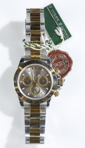 Rolex Daytona Two-tone Watch.
