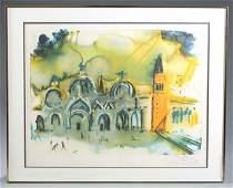 Dali Homage to Venice lithograph