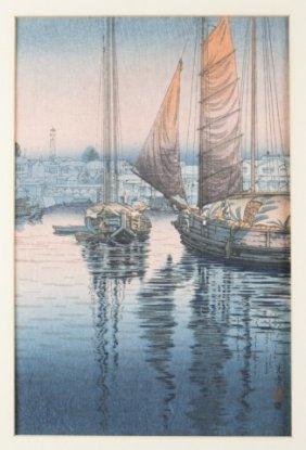 Japanese Woodblock Print, Koitsu Tsuchiya.
