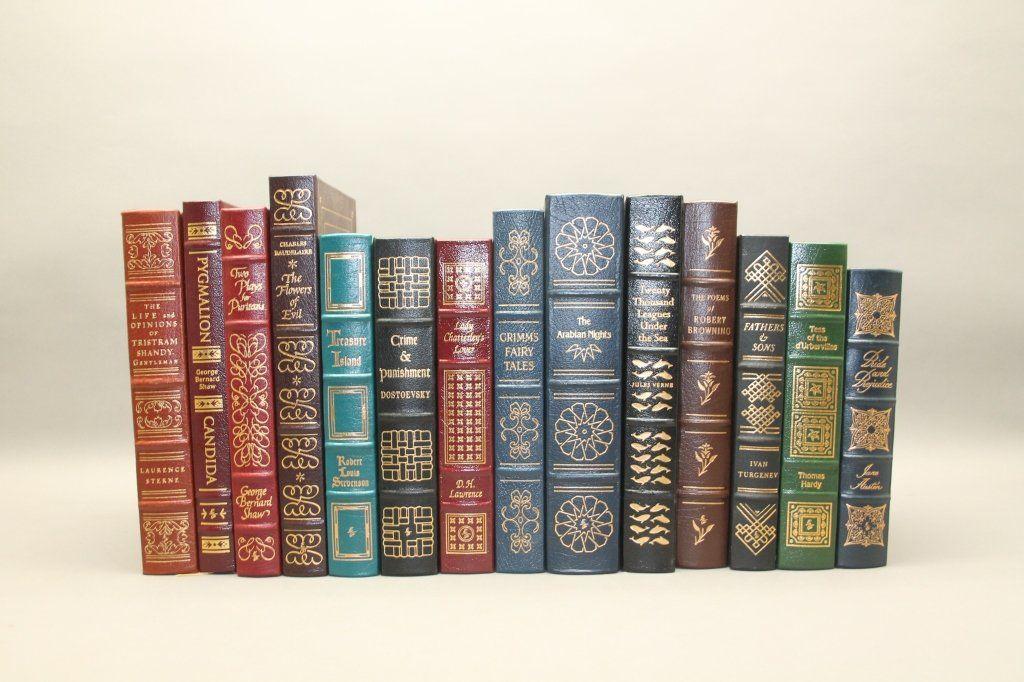 14 Easton Press: Shaw, Turgenev, Verne, Austen...