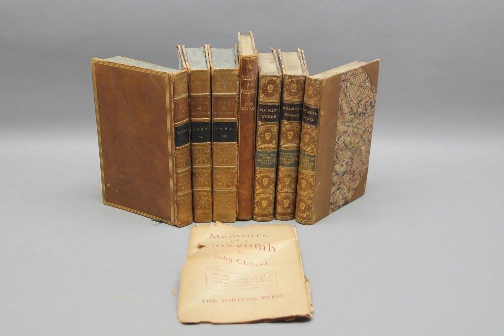 7 Vols incl: HISTOIRE DE JEAN CHURCHILL... 1808.