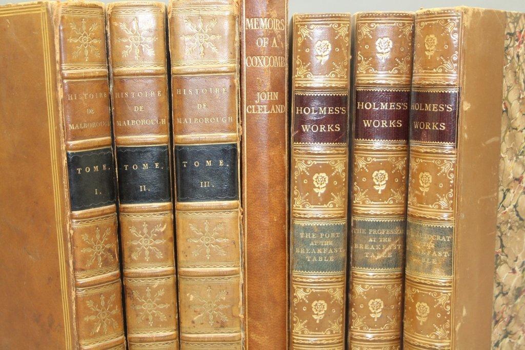 7 Vols incl: HISTOIRE DE JEAN CHURCHILL... 1808. - 2