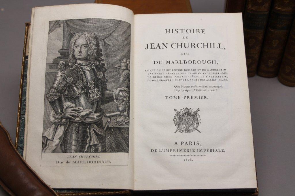 7 Vols incl: HISTOIRE DE JEAN CHURCHILL... 1808. - 3