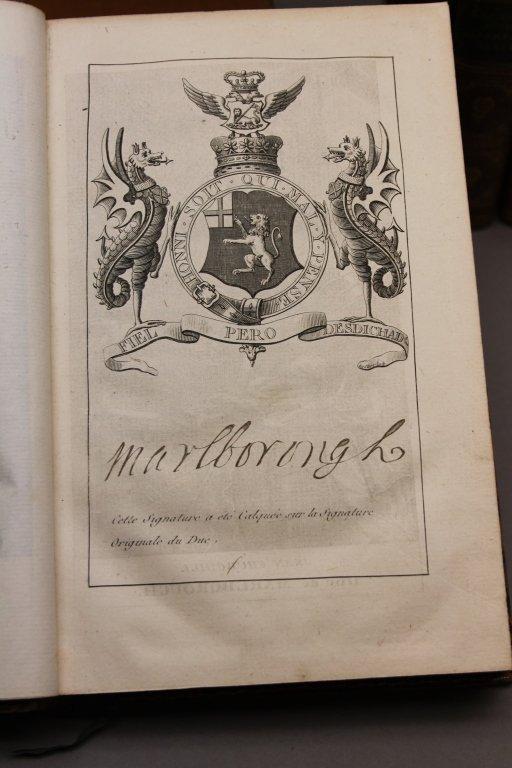 7 Vols incl: HISTOIRE DE JEAN CHURCHILL... 1808. - 4
