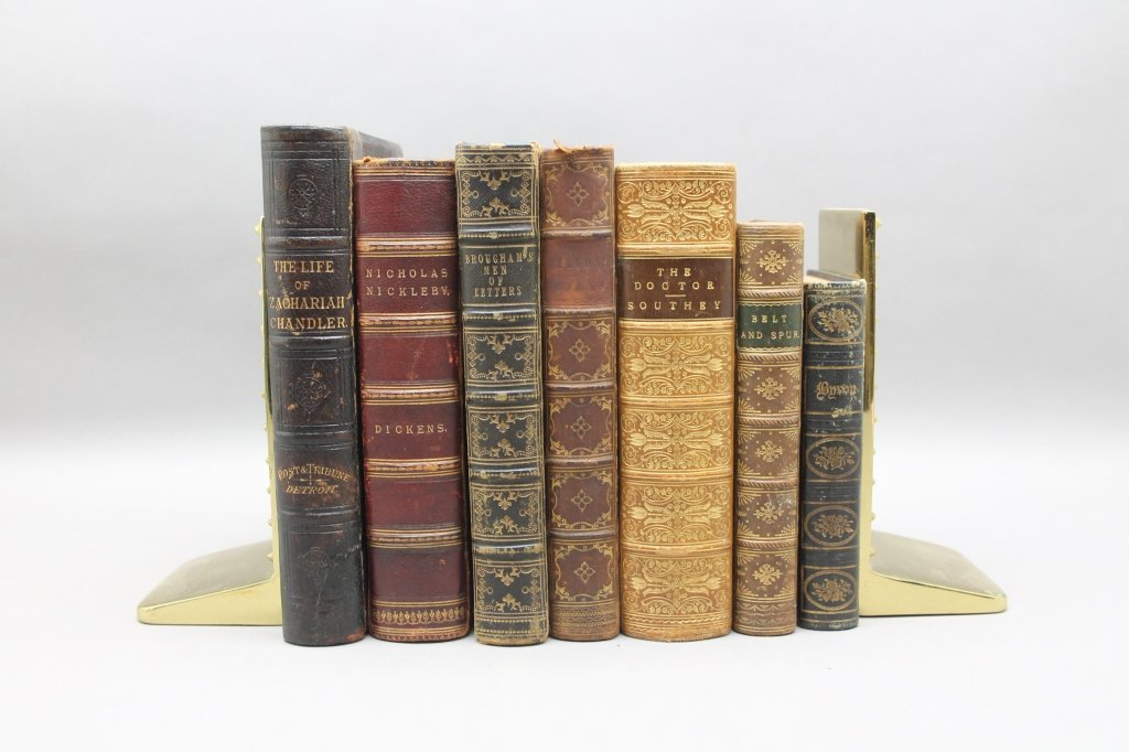 7 Books: Southey, Byron, Dickens, Milton, 3 others