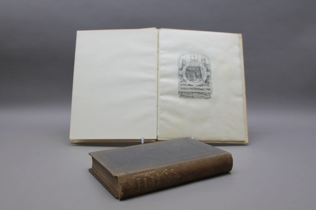 2 Thoreau books incl:  A YANKEE IN CANADA... 1866. - 2