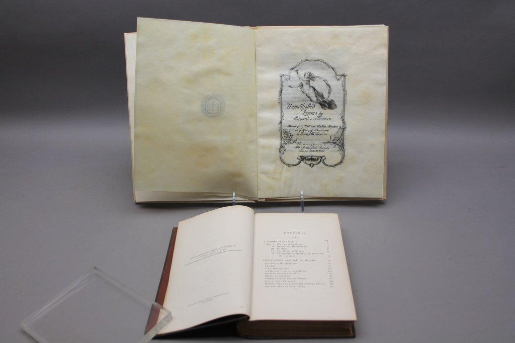 2 Thoreau books incl:  A YANKEE IN CANADA... 1866. - 4
