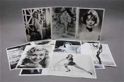 15 signed photos: Mae West, Myrna Loy, Gaynor...