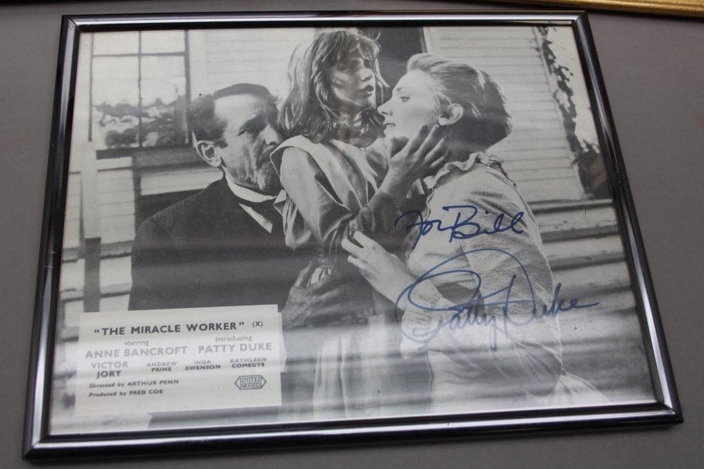 16 photos signed: Helen Hayes, Patty Duke, Neal... - 5