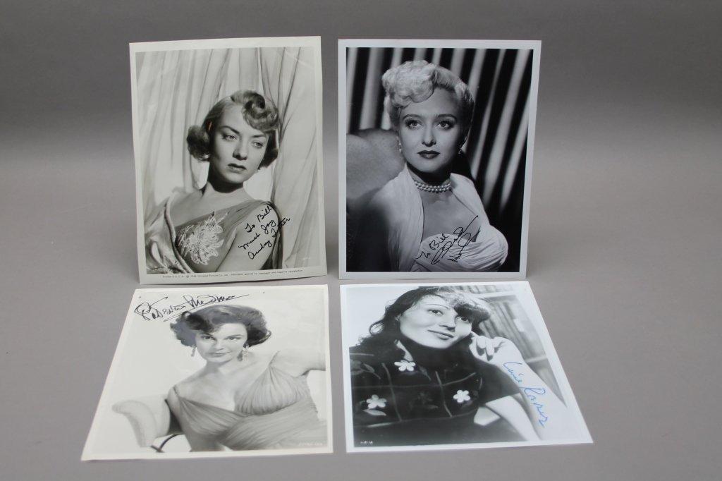 16 photos signed: Helen Hayes, Patty Duke, Neal... - 6