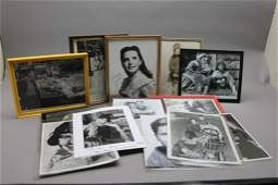 17 signed Child Actors: Shirley Temple, Bob Hope..