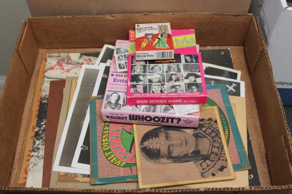 55 Entertainment items: many signed, w/ ephemera - 2