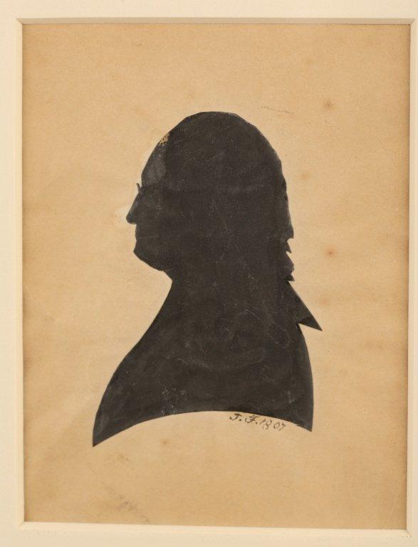 George Washington cut signature, w/ Edm. Randolph - 3