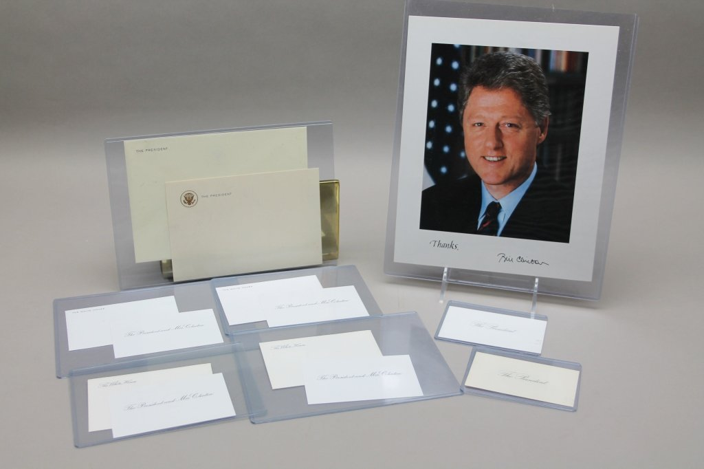Over 32 items: White House place cards, McKinley. - 5