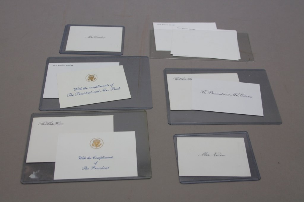 Over 32 items: White House place cards, McKinley. - 7