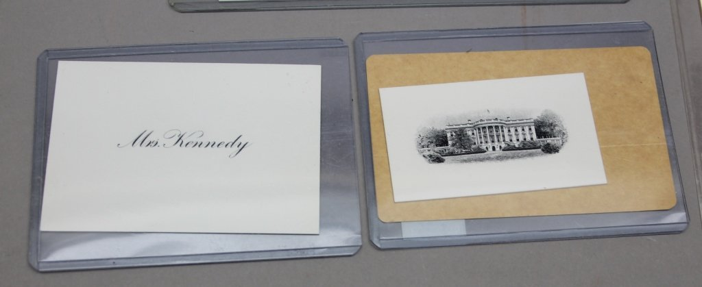 Over 32 items: White House place cards, McKinley. - 9