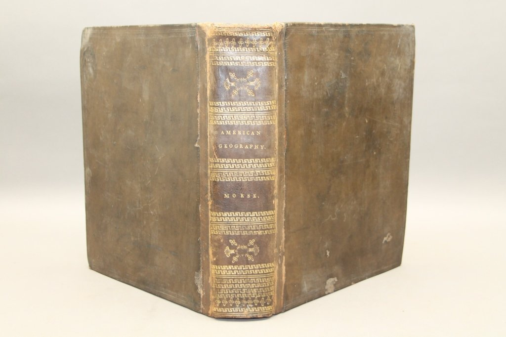 Morse. THE AMERICAN GEOGRAPHY. 1794.