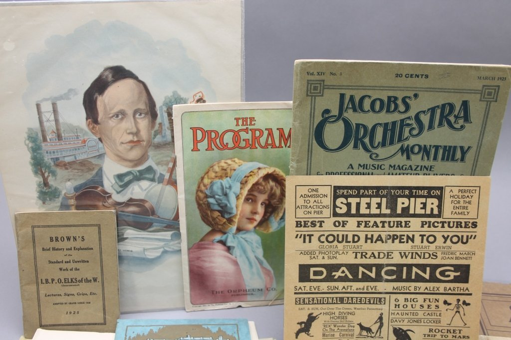 ~33 items: Black Americana, 1800s and 1900s. - 2