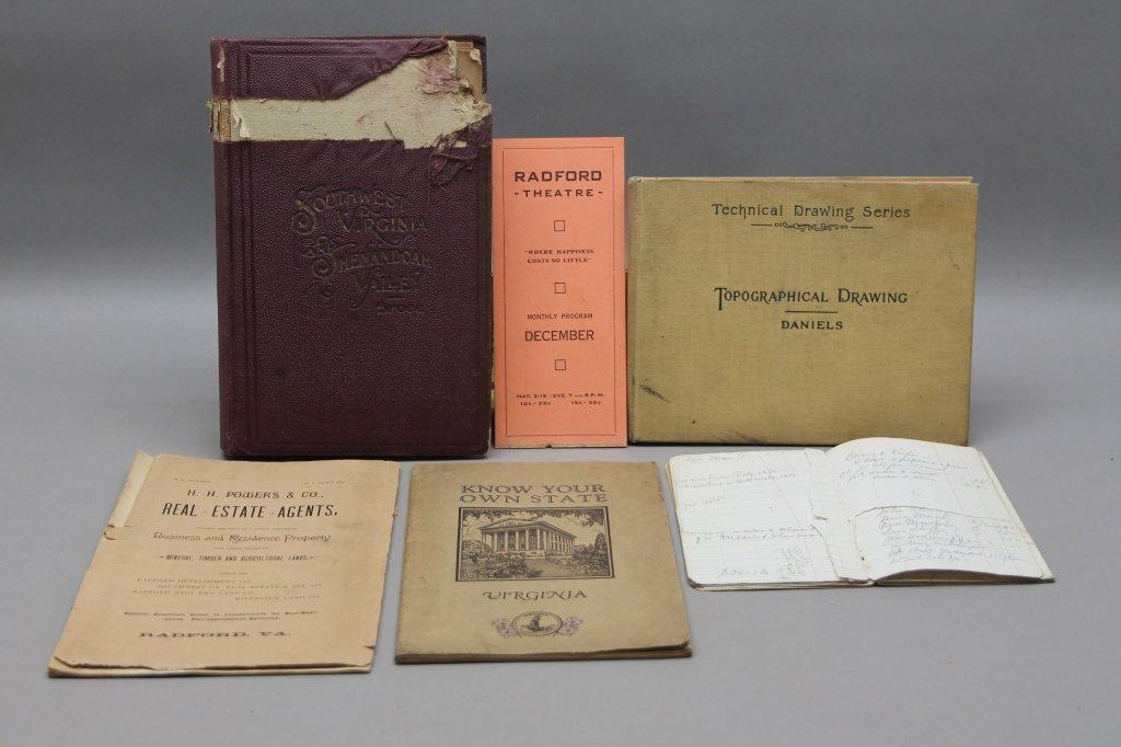 19 Vols incl 15 surveys owned by CW Gen. Wharton - 10