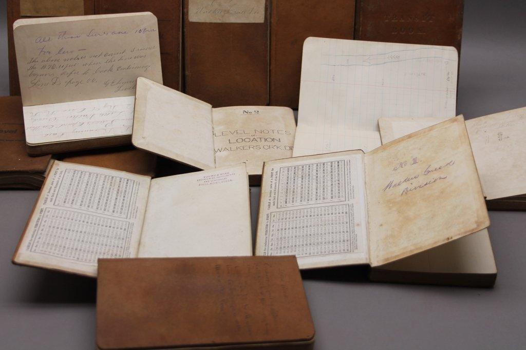 19 Vols incl 15 surveys owned by CW Gen. Wharton - 3