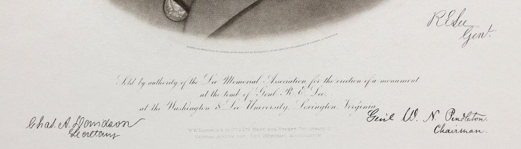 10 restrike engraved portraits: 5 Lee, 5 Stonewall - 4