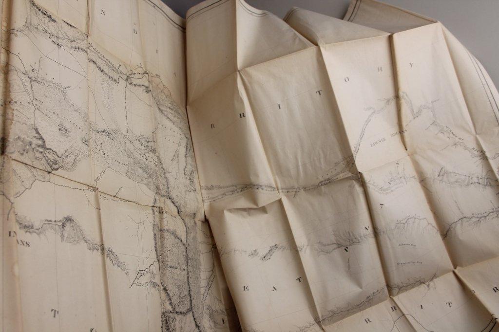 4 Vols: Stansbury, ...SALT LAKE, 1853 + 2 others. - 10