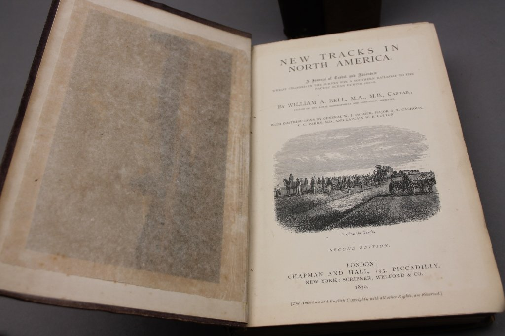 4 Vols: Stansbury, ...SALT LAKE, 1853 + 2 others. - 2