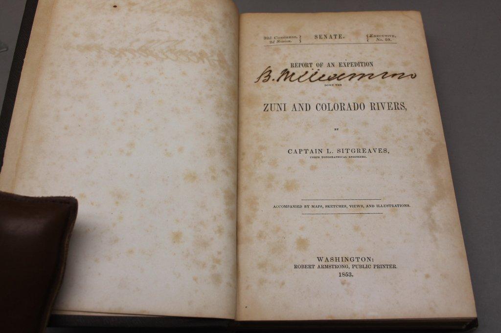 4 Vols: Stansbury, ...SALT LAKE, 1853 + 2 others. - 3