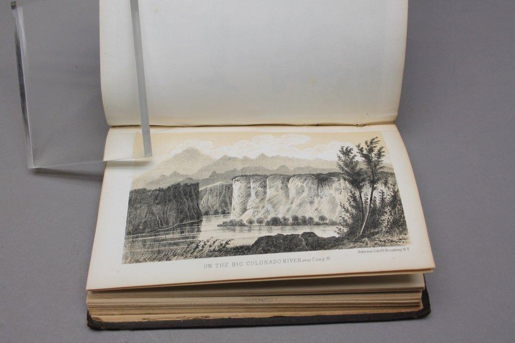 4 Vols: Stansbury, ...SALT LAKE, 1853 + 2 others. - 4