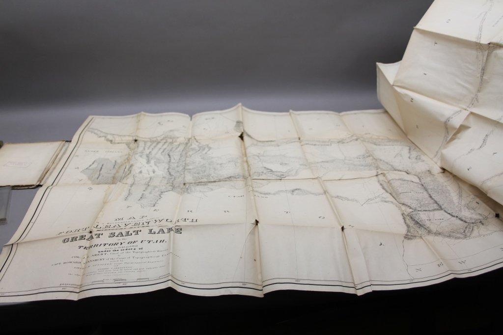 4 Vols: Stansbury, ...SALT LAKE, 1853 + 2 others. - 7
