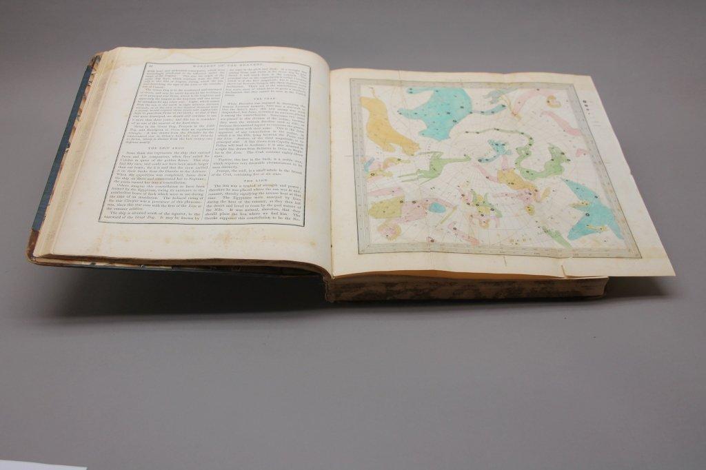 Bradford. THE WONDERS OF THE HEAVENS. 1837. 1st ed