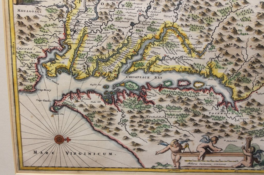 Nova Virginia Tabula. [1671 or later]. - 5