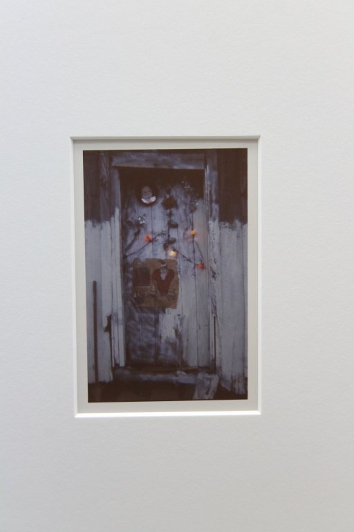 """CHRISTENBERRY, """"Door of House at Christmastime"""""""