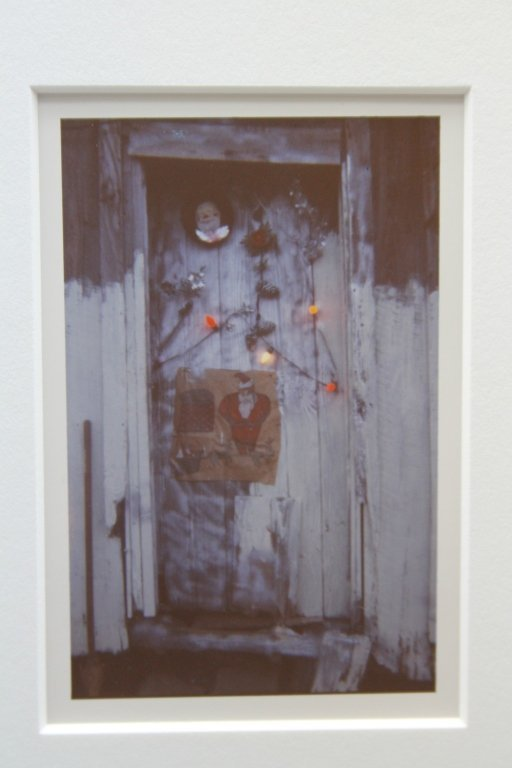 """CHRISTENBERRY, """"Door of House at Christmastime"""" - 2"""