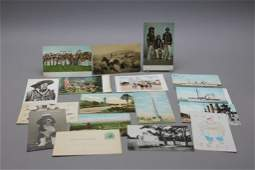 16 Early Postcards: Apache Scouts, Teddy Roosevelt