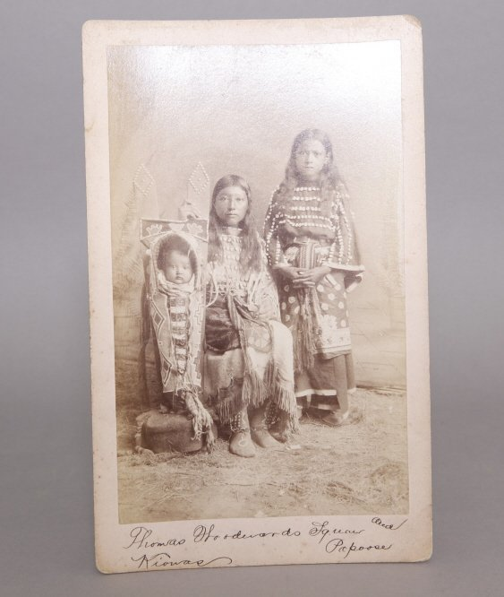 Sawyer's Indian Photo: Thos. Woodward's Squaw