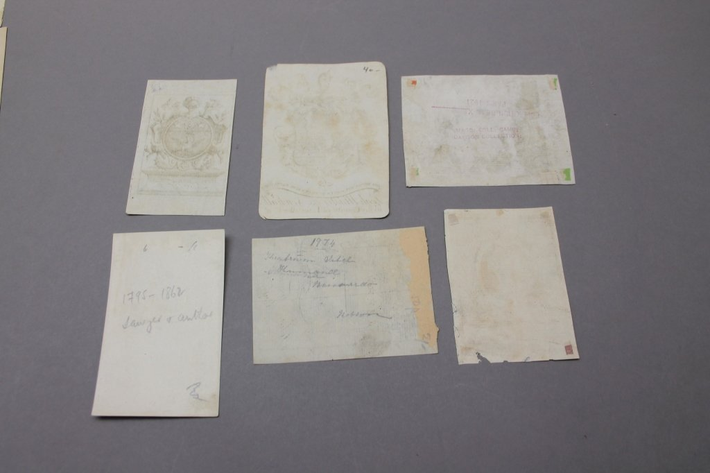 15 Engraved & Printed Bookplates: 17th-20th C - 3