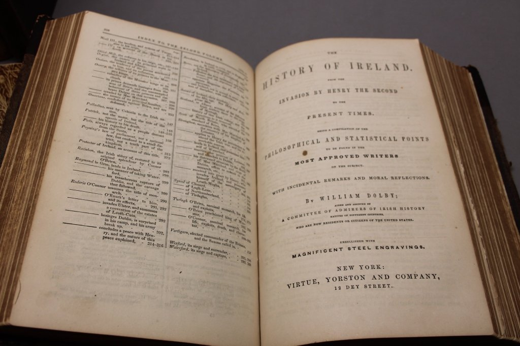 4 Books incl: Clynn, et. al THE ANNALS OF IRELAND. - 2