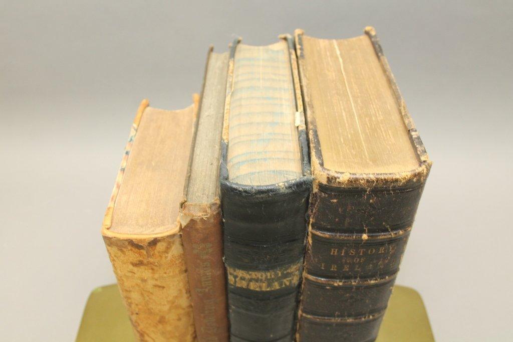 4 Books incl: Clynn, et. al THE ANNALS OF IRELAND. - 5