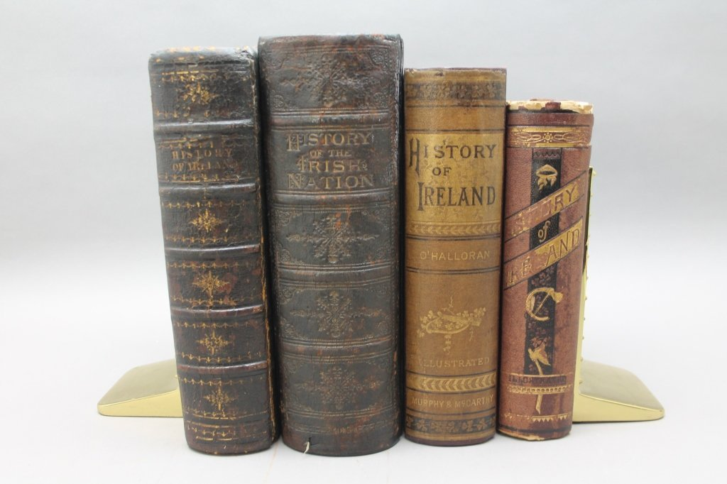 4 Books: Cusack, HISTORY OF IRISH NATION, Haverty